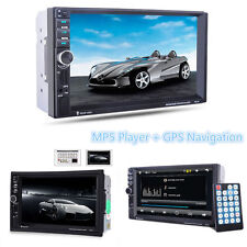 7'' Touch Screen HD 1080P In-dash Car GPS Navigation Bluetooth Stereo MP5 Player