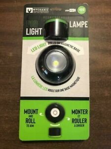 MYCHANIC Pod Light Portable Rechargeable LED Work Light 400 Lumens NEW NEW NEW