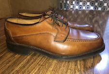 Allen Edmonds Dress Shoes Oxford Brown Leather Lace Up Derby Brogue Men's Sz 9