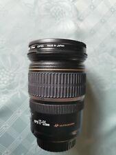 - lente Canon EF-S 17-55 mm f/2.8 IS USM y
