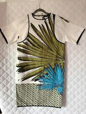 PIAZZA SEMPIONE Robe Multicolore Coton Taille 34 Neuf