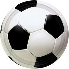 8pk Campionato di Calcio Piastre 22.8cm Sport Festa Di Compleanno Stoviglie