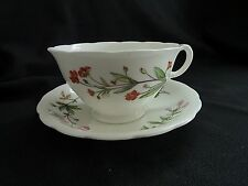 Minton MEADOW SCALLOPED Cup & Saucer B 1641  made in England