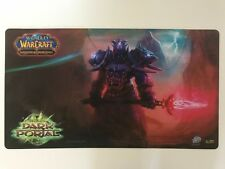 WORLD OF WARCRAFT WOW THROUGH THE DARK PORTAL OFFICIAL PLAYMAT PLAY MAT NEW