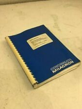 Cincinnati Milacron Parts Manual for Arrow 500 / 750 Vmc's w/ A2100E, 91203013