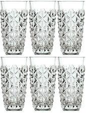 RCR ENIGMA cristallo Hi sfera bicchieri Set di 6 400ml Taglio Vetro Acqua Succo Occhiali