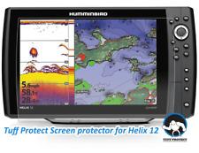 Clear Screen Protectors for Humminbird Helix 12 Fishfinder (2pcs) - Tuff Protect