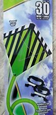 "X-Kites StuntDiamond 30"" Green Dual Control Kite - New!"