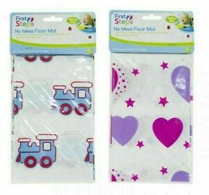 Mess Mat Floor Cover Protectors Kids Baby Arts Crafts Fun Messy Splash Activity