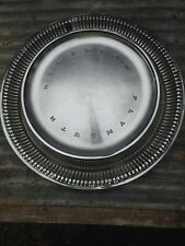 Vintage Plymouth Chrome Hub Cap Rat Rod Man Garage Wall art