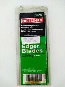 Craftsman 85719 Single Replacement Edger Blade Reversible For Craftsman 79240