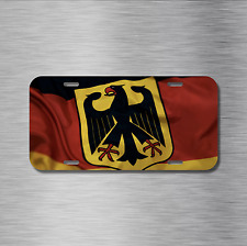 German Vehicle License Plate Front Auto Tag Plate Germany deutsch Flag eagle NEW