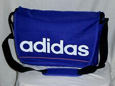 Adidas   Messenger  Sporttasche Schultertasche   Blau / Lila 28 X45 X15 Neu