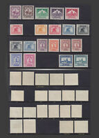 1941-1942 IRAQ DEFINITIVES NH , LH , VLH   SCT.79-86 88-97 100-101 MI.97-118