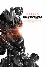 Transformers: The Last Knight Movie Poster (24x36) - Bubble Bee, Optimus v15