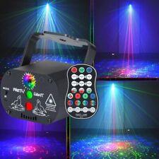 90 Muster RGB UV LED Bühnenbeleuchtung Laser Projektor Strahler USB Disco Party