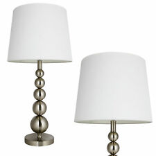 [lux.pro]® Lampada da tavolo grande [H52cm Ø36cm] lampada tavolo bianco luce
