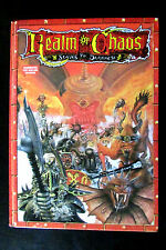 OOP Citadel / Warhammer 1st Edition Realm Of Chaos Slaves To Darkness Hardback