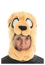NEW Adventure Time Jake Ember Plush Character Laplander Beanie Cap Hat