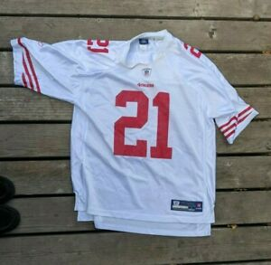 Reebok On Field 49ers Jersey Frank Gore #21 Authentic Size Large Football NFL