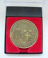 POPE JOHN PAUL II XXV years PONTIFICATE  POLAND  MEDAL Krakow 2003