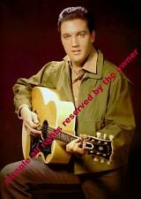 ELVIS PRESLEY FANTASTIC EARLY PROMO IMAGE WITH GUITAR