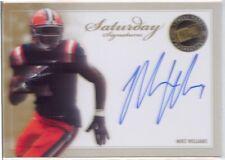 mike williams rookie rc auto autograph tampa bay bucs syracuse orange college