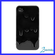 SWITCHEASY Melt case, screen film & stand for iPhone 4/4S, Sesane Black, NEW