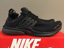 Nike Air Presto TP QS Tech Fleece Triple Black Size M (M 10-11) [812307 001]
