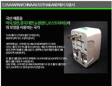 Travel Universal Adapter w/ Surge Protector 110~250V/10V Multi-Plug Adapter noo