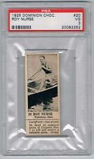 1925 Dominion Choc. Sports Card #20 Roy Nurse (Paddling) Graded PSA 3
