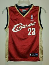 Lebron James Cleveland Caveliers Reebok Jersey Youth Small #23 2007 NBA