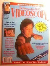 VIDEOSCOPE Magazine #19 Summer 1996 - Jackie Chan, Quentin Tarantino (New/9.4)