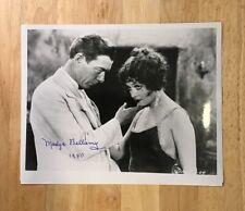 MADGE BELLAMY Autograph 8 x 10 Photo JSA Certified Signature Film Actress Auto