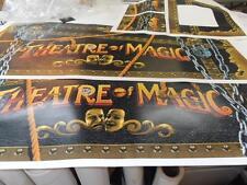 Theatre Of Magic Pinball Full Cabinet Decal Set NEXT GEN PRINTING : Mr Pinball