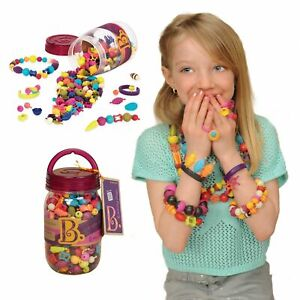 B. B.eauty Pops Art Crafts Toy Pop Snap Beads for Jewelry Making 275 pieces