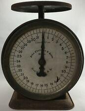 Vintage John Chatillon & Sons 32 ounce shop scale