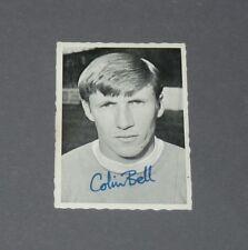 A & BC GUM CARD FOOTBALL ENGLAND 1969 COLIN BELL MANCHESTER CITY CITIZENS