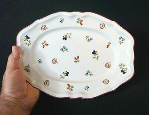 Beautiful Villeroy Boch Petite Fleur Oval Serving Platter