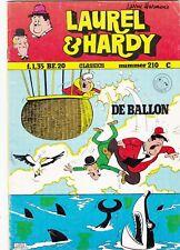 Strips lotje van 8 Laurel & Hardy classics 1974/1975 van larry Harmon's
