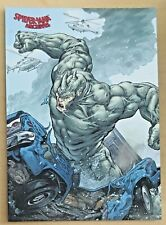 2009 Marvel SPIDER-MAN ARCHIVES Foil Parallel Card #31 - Rhino