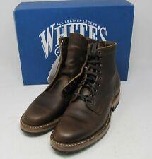 """Whites Boots. MP365-HC-LUG, Cinn Wax, 9.5 D, 6""""."""