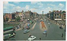 Ireland, O'Connell Street & Panorama Dublin Postcard, B407
