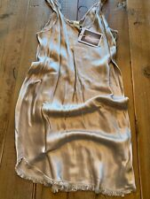 BNWT NATION Carrie Slip Dress, Champagne, Small