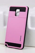 iPhone 5 6 7 Samsung Galaxy Slide Case Wallet Credit Card Slot ID Fast Shipping