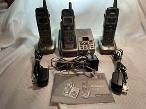 Uniden Cordless Phone Answering System With 3 Handsets