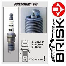 1x BRISK Iridium Premium + Zündkerzen P6 (1624) BP6+