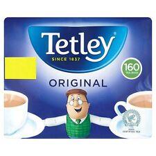 Tetley ORIGINALE 160 TAZZE TEA BAGS 500g UFFICIO VIAGGI VACANZE CASA (221023)