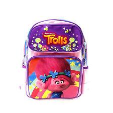 Brand New Dreamworks Trolls Poppy Pink School Bag Backpack Supplies