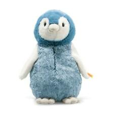 STEIFF Paule Penguin EAN 063961 30cm Blue white Plush soft toy gift New